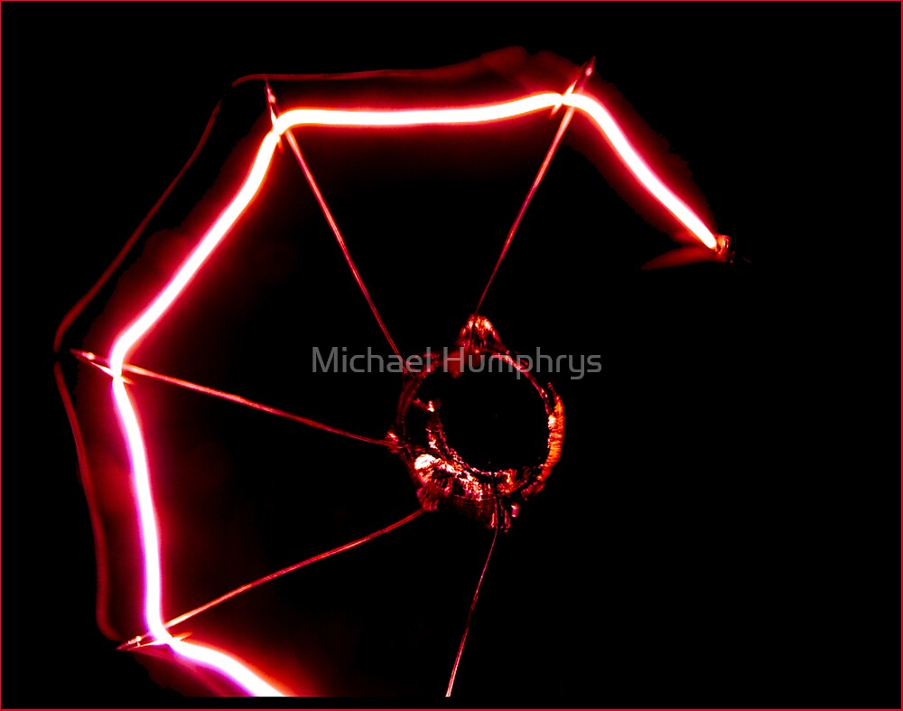 Neon Web by Michael Humphrys