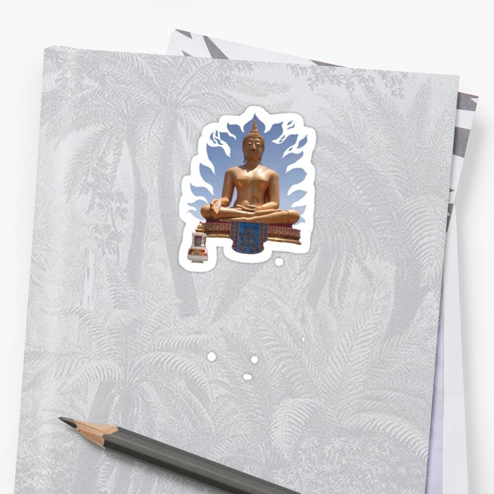 Thai Buddha by DAdeSimone