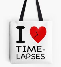 I heart Time-lapses - NY style Tote Bag