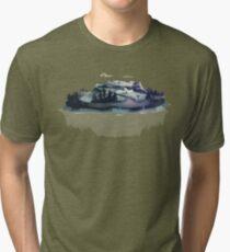 Alpine Island Tri-blend T-Shirt