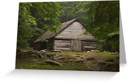 Bud Ogle's barn by Kevin Price