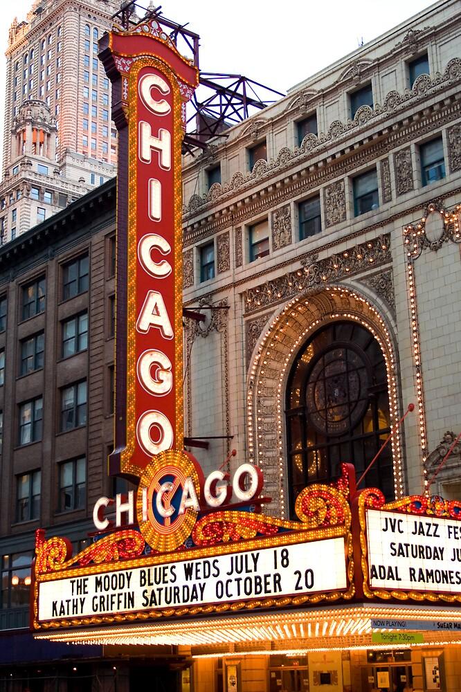 Chicago Theater by Paul Szymiczek