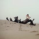 my black monster at the beach by LauraZalenga