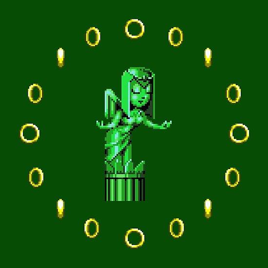 Sonic CD Angel Statue by Miqwib