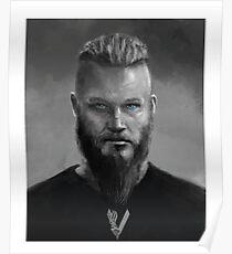 KING RAGNAR LOTHBROK - VIKINGS Poster