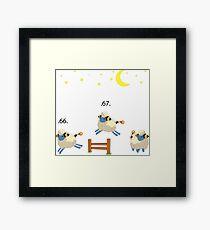 Mareep pokemon Framed Print