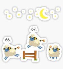 Mareep pokemon Sticker