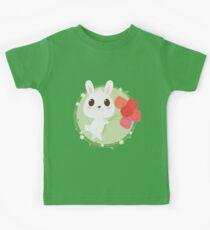 Tulips Bunny Kids Tee