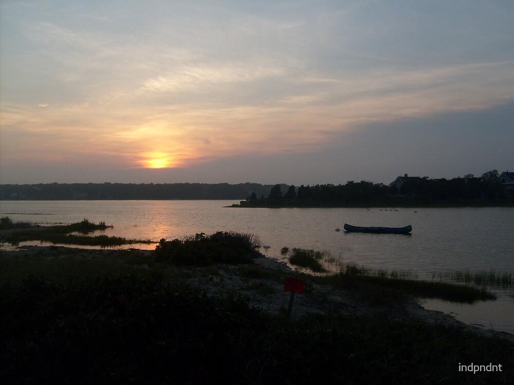 sunset by indpndnt
