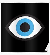 Big Eye Blue Eyed Poster