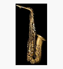 Alto saxophone Photographic Print