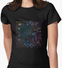 Ear Reddening Game (Dark Galaxy) Womens Fitted T-Shirt