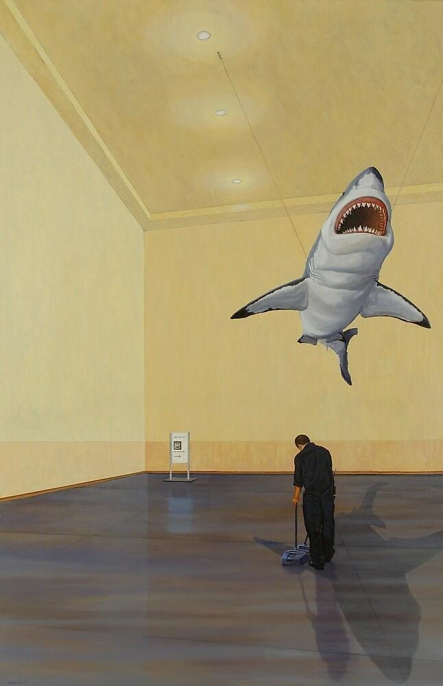 White Shark II (Shadow) by Jason Moad