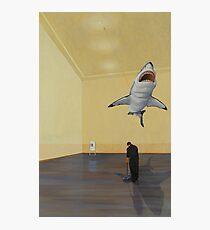 White Shark II (Shadow) Photographic Print