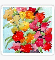 Colourful Spring garden Sticker