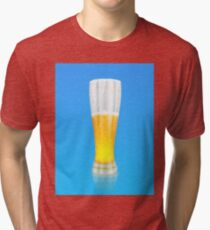 Glass of beer 3 Tri-blend T-Shirt