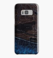 USGS TOPO Map California CA Honker Bay 296169 1918 31680 geo Inverted Samsung Galaxy Case/Skin