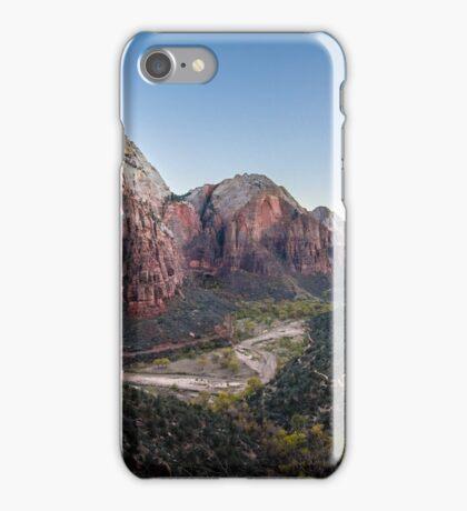 Angels Landing - Zion National Park, Utah iPhone Case/Skin
