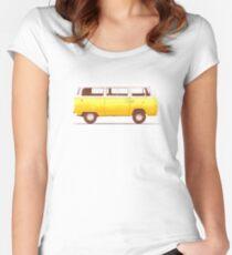 Yellow Van Women's Fitted Scoop T-Shirt