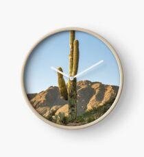 Lonley Cactus in Saguaro National Park Clock