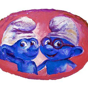 Smurfs by Milartis