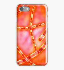 Microscopic view of Anthrax. iPhone Case/Skin