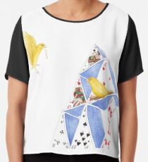 A House of Cards Chiffon Top