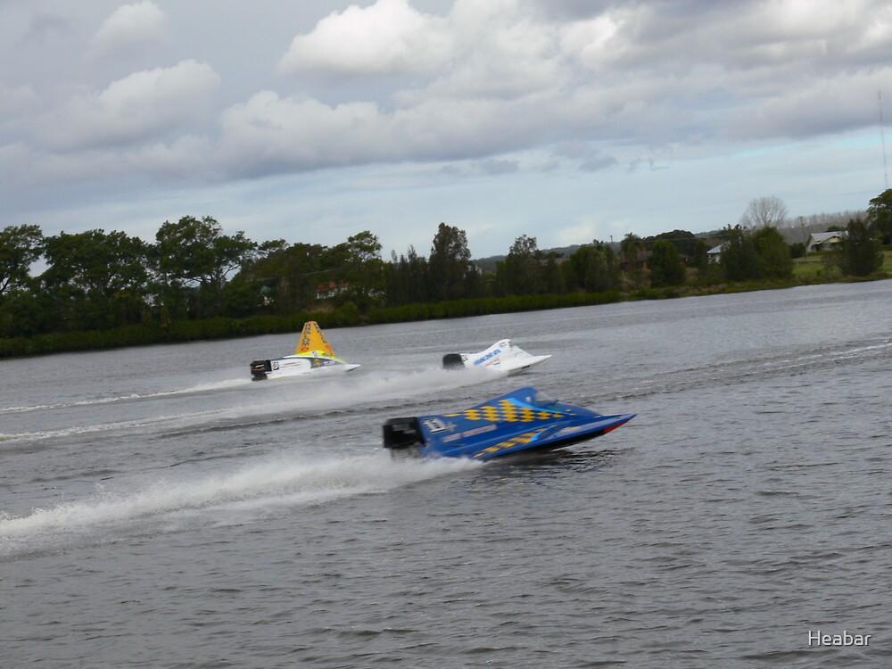 Racing on the Manning River Taree Australia by Heabar