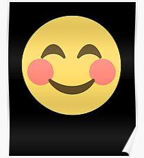 Smile Emoji Happy Face Poster