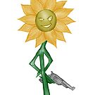 Deadly Sunflower by Colin Wells