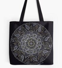 Rich Paisley Mandala Tote Bag