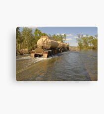 The Shaw River Crossing Canvas Print