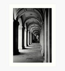 Colonnade at the GPO Art Print