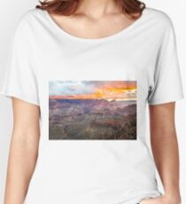 Sunrise over Grand Canyon National Park Women's Relaxed Fit T-Shirt