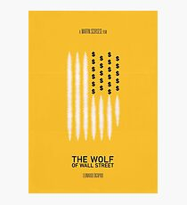 The Wolf of Wall Street Photographic Print