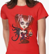Fallen Angel Womens Fitted T-Shirt