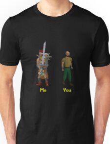 Me vs You Runescape Unisex T-Shirt