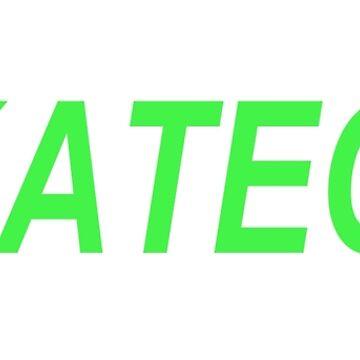 #SKATEGOD - Hashtag Skate God - Green text by ManoliMerch