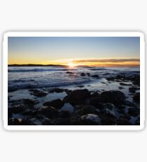 Point Pleasant Sunrise. Sticker