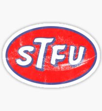 STP STFU Logo Sticker