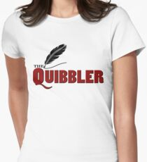 The Quibbler Womens Fitted T-Shirt