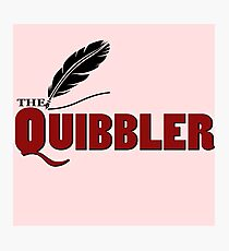 The Quibbler Photographic Print
