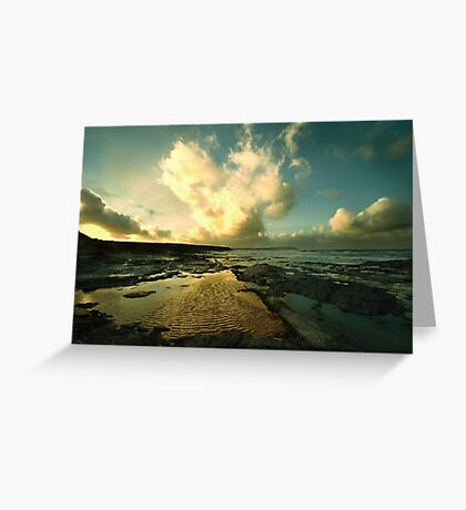 Heart of the Storm- Vintage Edition - Newtrain Bay - Cornwall Greeting Card