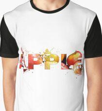 Apple splash art Graphic T-Shirt