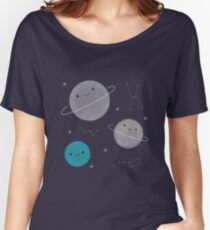 Kawaii Outer Space Women's Relaxed Fit T-Shirt
