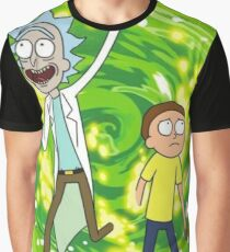 Rick and Morty - Portal  Graphic T-Shirt