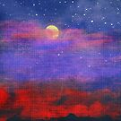 Moon and Stars by browncardinal8