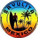 SURFING SAYULITA MEXICO SURF SURFER SURFBOARD BOOGIE BOARD MX 2 by MyHandmadeSigns