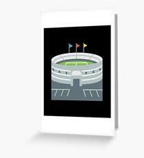 Sport Stadium Greeting Card