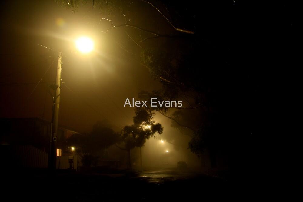 Cold Melbourne Night by Alex Evans